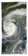 Tropical Storm Isaac Moving Bath Towel