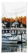 Vancouver Rowing Club Hand Towel
