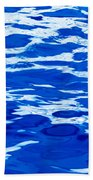 Blue Water Bath Towel