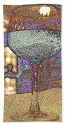 Wine Glass Bath Towel