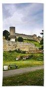 Kalemegdan Fortress In Belgrade Hand Towel