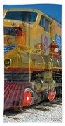 100 Years Of Union Pacific Railroading Bath Towel