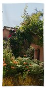 Gardens In Carmel Monastery Bath Towel