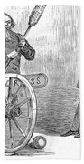Andrew Johnson (1808-1875) Bath Towel