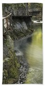 The Soteska Vintgar Gorge Bath Towel