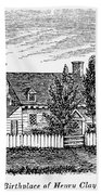 Henry Clay (1777-1852) Bath Towel
