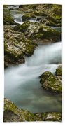 The Soteska Vintgar Gorge Bath Towel