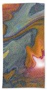 Abstract Pattern Art Bath Towel