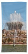 Chicago City Scenes Bath Towel