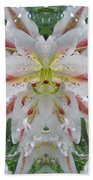 Lily Fantasy Hand Towel