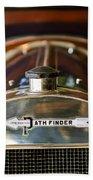 1913 Pathfinder 5-passenger Touring Hood Ornament Bath Towel