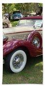 1930 Buick Bath Towel