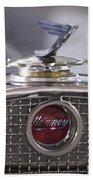 1931 Henney 2-passenger Convertible Hood Ornament Bath Towel