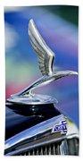 1933 Chevrolet Master Six Eagle Sedan Hood Ornament Bath Towel