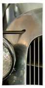 1934 Mg Pa Midget Supercharged Special Speedster Grille Bath Towel