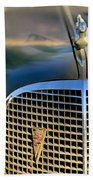 1937 Cadillac Hood Ornament And Grille Bath Towel