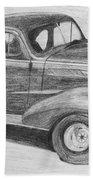 1937 Chevy Bath Towel