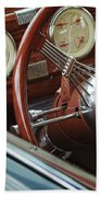 1940 Chevrolet Steering Wheel Bath Towel