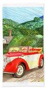 1948 Alvis English Countryside Hand Towel