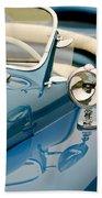 1948 Lloyd Templeton Mercury Saturn Bob Hope Roadster Bath Towel