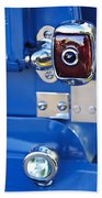 1950 Chevrolet 3100 Pickup Truck Taillight Bath Towel