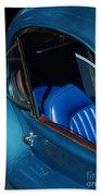 1953 Jaguar 120m Wind Wings Bath Towel