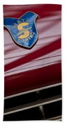 1953 Siata 208s Spyder Emblem Bath Towel