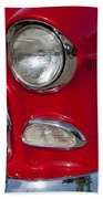 1955 Chevrolet 210 Front End Hand Towel