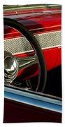 1955 Chevrolet 210 Steering Wheel Bath Towel