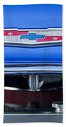 1955 Chevrolet Belair Hood Emblem 4 Bath Towel