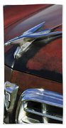 1955 Chrysler Windsor Deluxe Hood Ornament Bath Towel