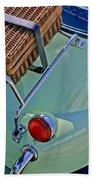 1957 Bmw Isetta 300 Motocoupe Taillight Bath Towel