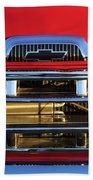 1957 Chevrolet Pickup Truck Grille Emblem Bath Towel