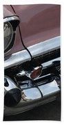 1957 Coral Chevy Bel Air Bath Towel