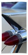 1958 Cadillac Tail Lights Bath Towel