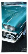 1958 Chevy Belair Front End 01 Hand Towel