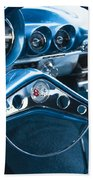 1960 Chevrolet Impala Steering Wheel Bath Towel