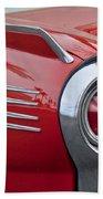 1961 Ford Thunderbird Taillight Bath Towel