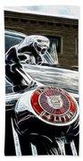 1963 Jaguar Mkii Fantasy Car Bath Towel