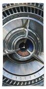 1964 Ford Thunderbird Wheel Rim Bath Towel
