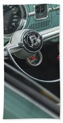 1964 Volkswagen Vw Steering Wheel 2 Bath Towel