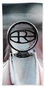 1965 Buick Riveria Hood Emblem Bath Towel