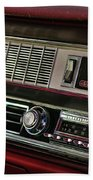 1967 Oldsmobile Cutlass 4-4-2 Dashboard Bath Towel
