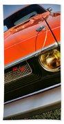 1970 Dodge Challenger Rt Hemi Orange Bath Towel