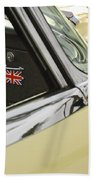 1970 Jaguar Xk Type-e Emblem Bath Towel