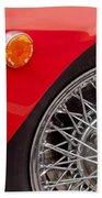 1972 Maserati Ghibli 4.9 Ss Spyder Wheel Bath Towel