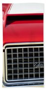 1972 Oldsmobile Grille Bath Towel