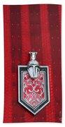 1988 Monte Carlo Ss Crest And Shield Emblem Bath Towel