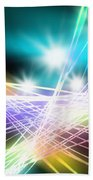 Abstract Of Stage Concert Lighting Bath Towel