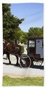Amish Buggies Bath Towel